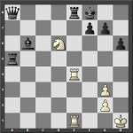 Beli igra i daje mat u dva poteza