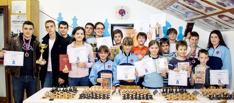 Osvajači medalja i pehara škole šaha