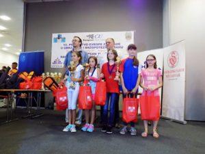 Anisia Savic dodela medalja