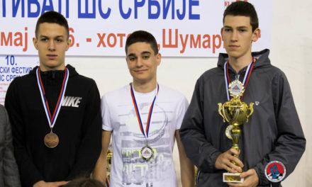Mihailo Savić – VICE ŠAMPION SRBIJE