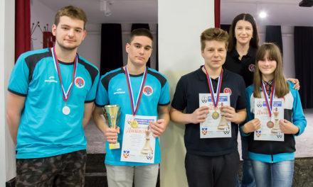 5 medalja na prvenstvu Beograda