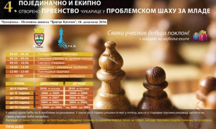 4. Otvoreno prvenstvo Čukarice u problemskom šahu