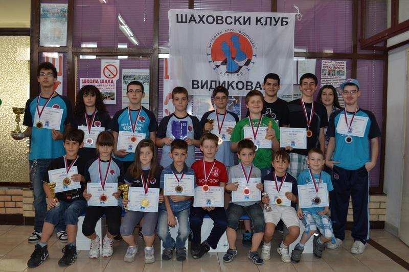 Rezultati 9. Prvenstva škole šaha