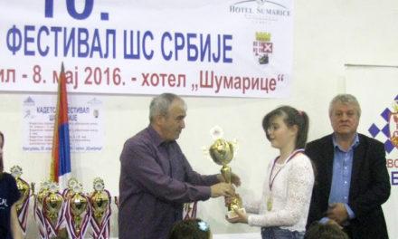Nevena Djordjević – šampion Srbije
