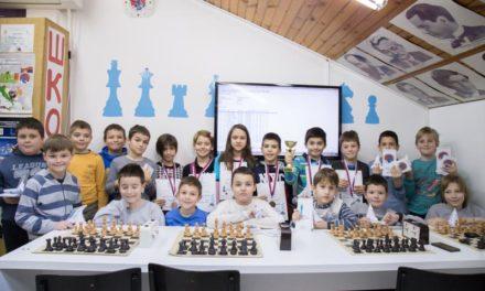 Novogodišnji šahovski turnir – rezultati
