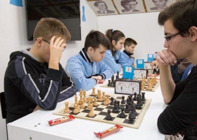 Šahovski četvoromeč - rezultati