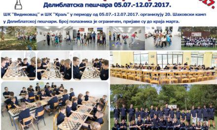 20. Šahovski (sportski) kamp