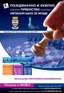 5. Međunarodno otvoreno prvenstvo Čukarice - raspis