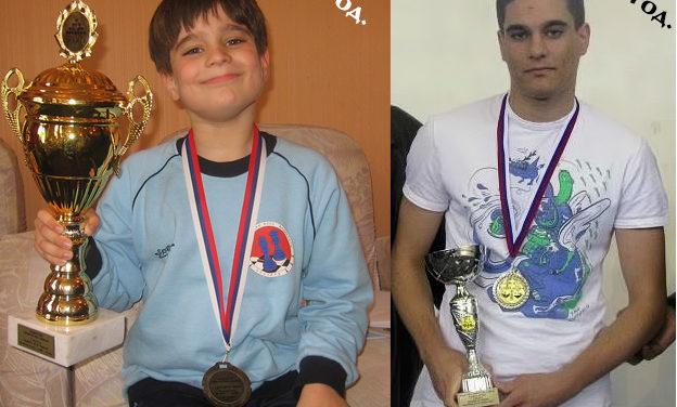 Mihailo Savić sa dve medalje na Prvenstvu Srbije