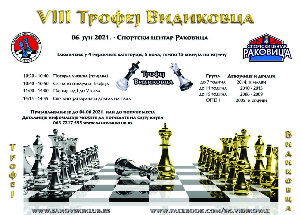 VIII TROFEJ VIDIKOVCA – RASPIS, 06. jun 2021.